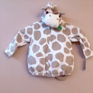 CARTERS 24M 2 PEICE COW COSTUME